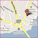 Google Map of 920 Shore Rd Somers Point NJ 08244